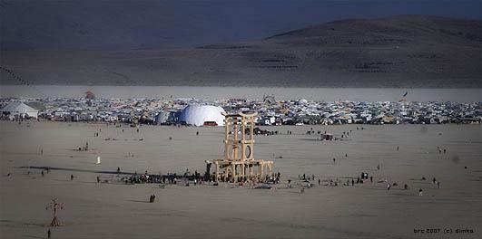 Burning Man Festival 2007